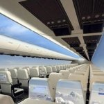 Windowless Aeroplanes will give Passengers an Exciting view of the Sky