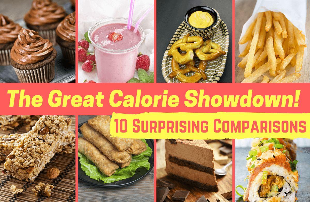 Fast Food Burger Calories Comparison