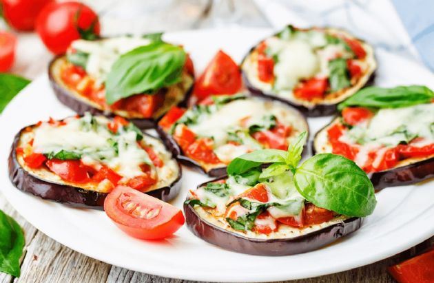 Image result for eggplant pizza