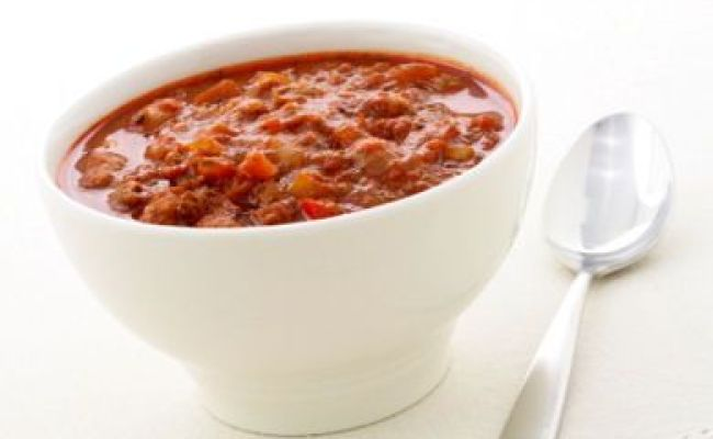 Slow Cooker Chili With Corn Black Beans And Ground