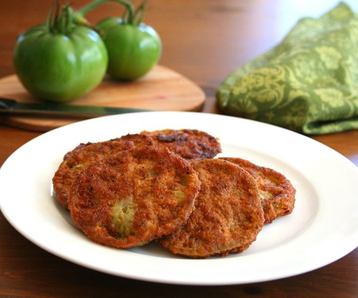 Low Carb Fried Green Tomatoes Recipe  SparkRecipes