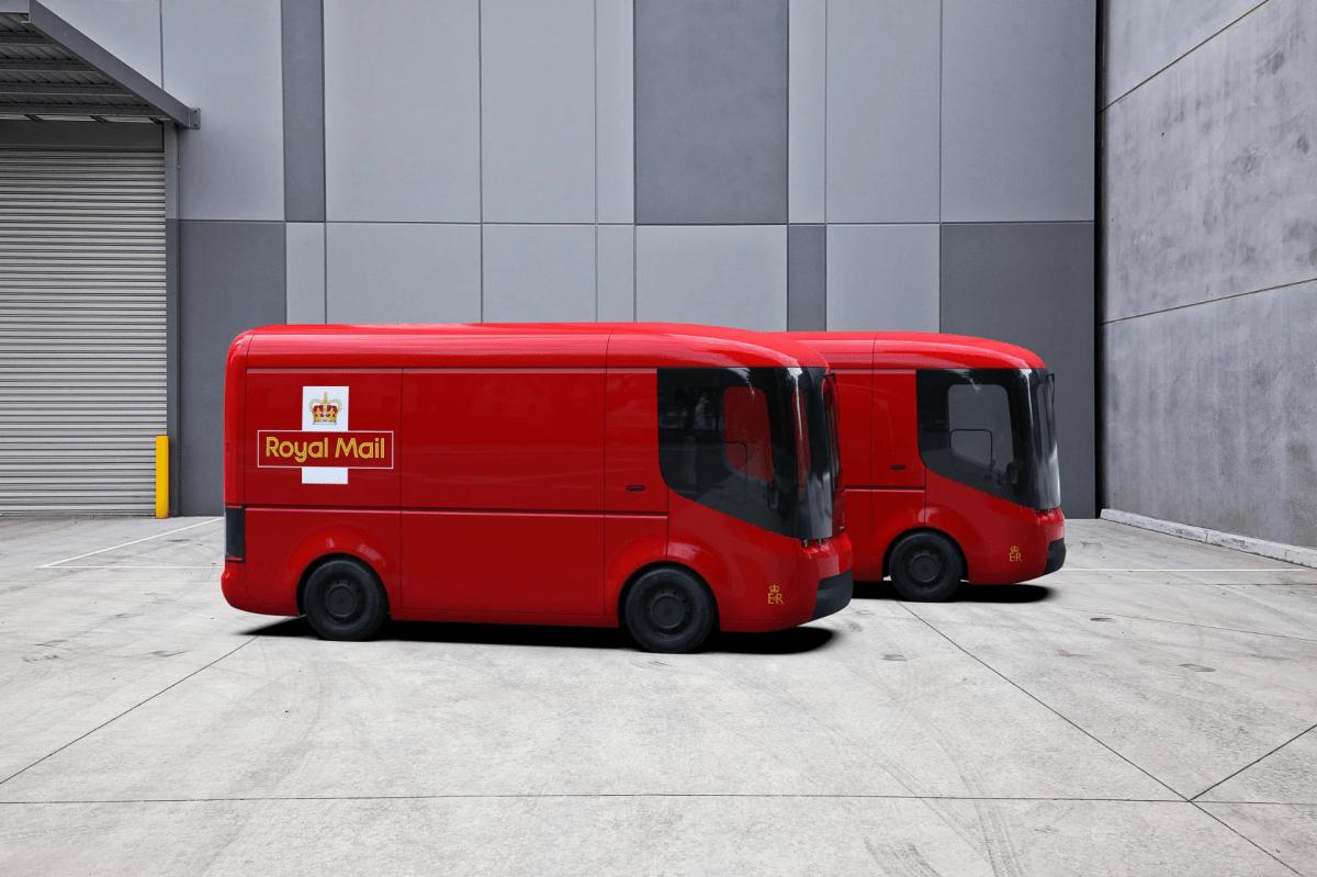 Arrival EV Delivery Van