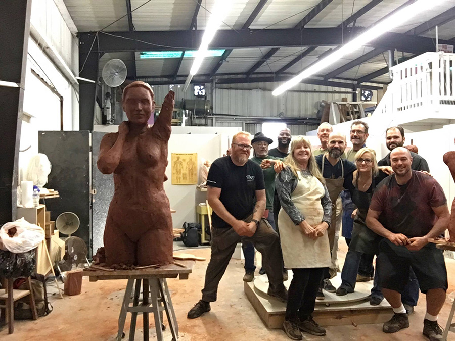 California Sculpture Academy Students