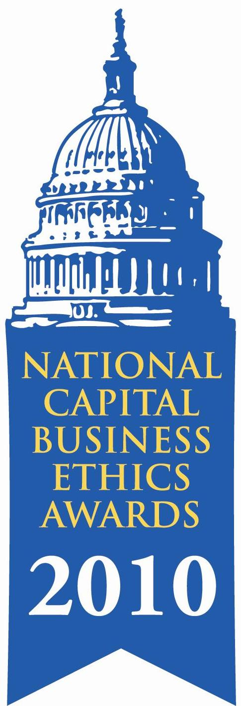 2010 National Capital Business Ethics Award Winner