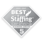 Best of Staffing Client Diamond Award (2012-2017)