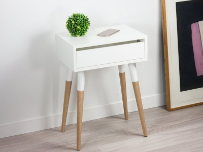 Scandinavian Design Nightstand, Danish Bedside Table