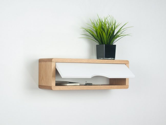 Floating Entryway Shelf