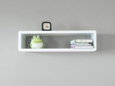 White Floating Shelf, Decorative Shelf