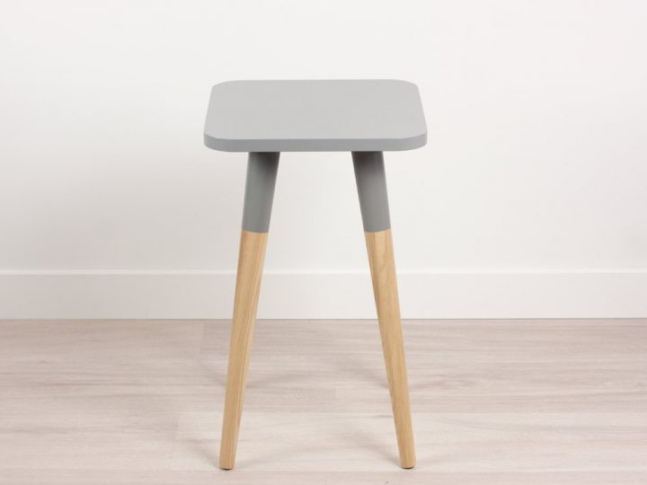 Bona Scandinavian Design Side Table Small, Modern End Table, Minimalist Collection
