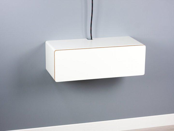 Blanca Small Floating Medium TV Console, Wall TV Stand, Medium Cabinet