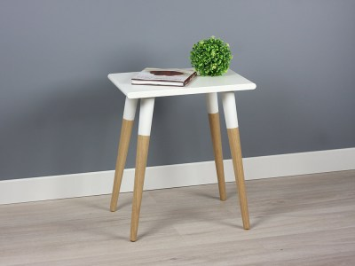 Sleek Modern Side Table, End Table, Nightstand