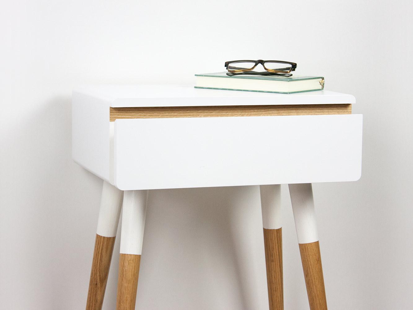 Blanca Scandinavian nightstand