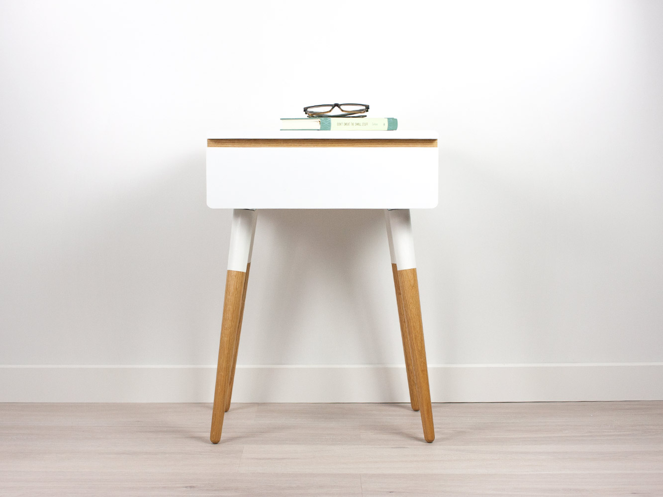 sports shoes 0246d 8ce37 Blanca Scandinavian Nightstand, Side Table, Bed Side Table