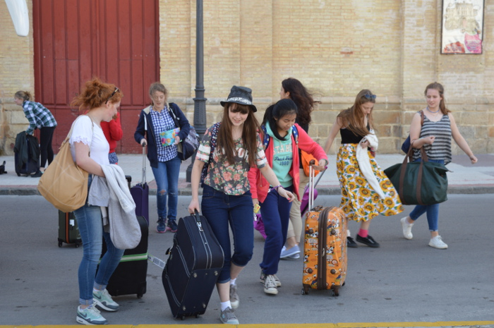 A school trip to Spain