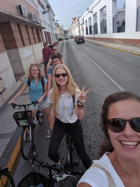 Bike tour in El Puerto
