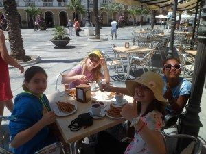 Churros in Cadiz