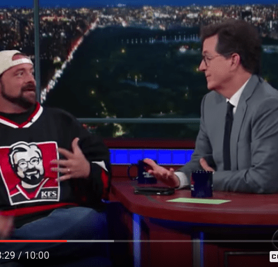 Kevin Smith gets geeked