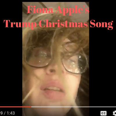 Fiona Apple sings a parody about Trump