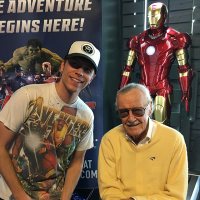 Stan Lee's Favorite Stripper Song is WHAT?!?! Sparks Radio Interview with Stan Lee!