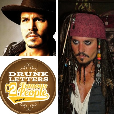 Drunk Letters to Famous People Episode 58: Johnny Depp