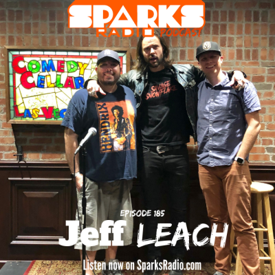 Jeff Leach : Sparks Radio Podcast Ep 185