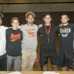 Bussey, Widmar headline Reed signing ceremony