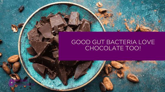 Good bacteria love chocolate too