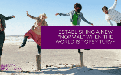 "ESTABLISHING A NEW ""NORMAL"" WHEN THE WORLD IS TOPSY TURVY"
