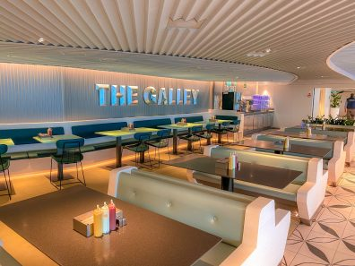 Scarlet Lady - The Galley