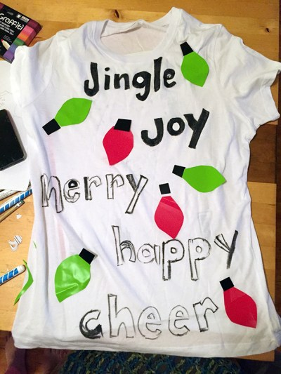 jingle joy merry cheer t-shirt