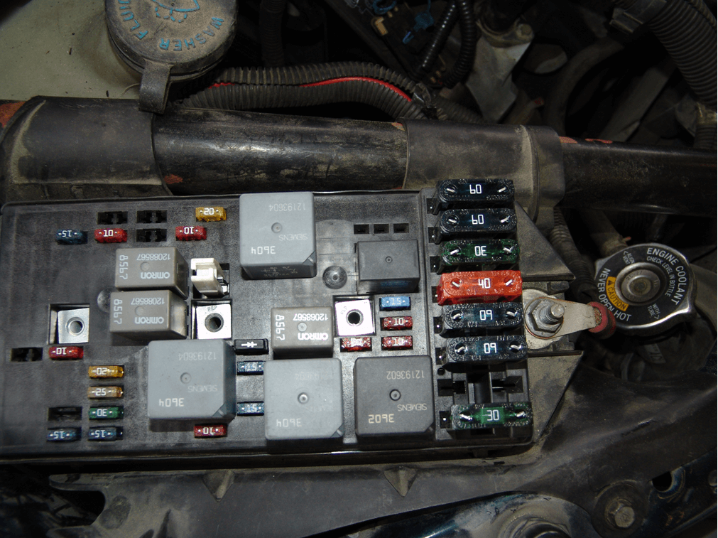 1996 Jeep Fuse Box Diagram Sparky S Answers 1999 Pontiac Montana Fuel Pump Fuse Blows