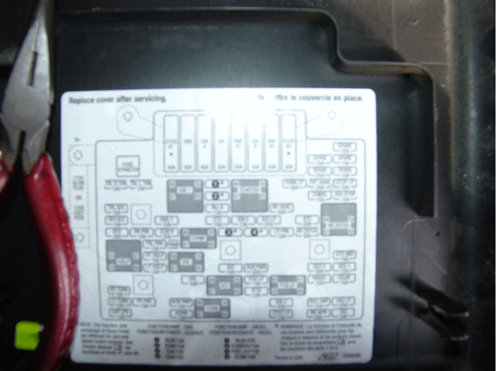 2007 Tahoe Z71 Under Hood Wiring Diagram Sparky S Answers 2001 Chevrolet Silverado With No