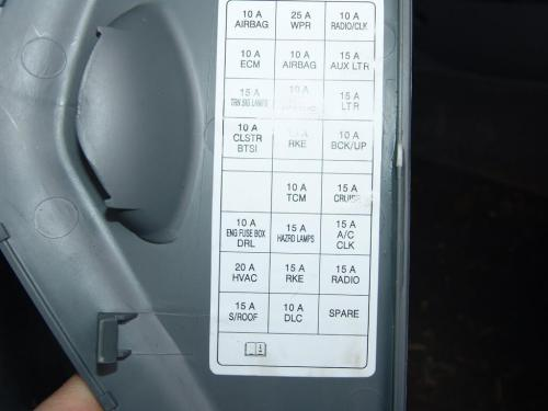 small resolution of 2006 suzuki xl 7 fuse box