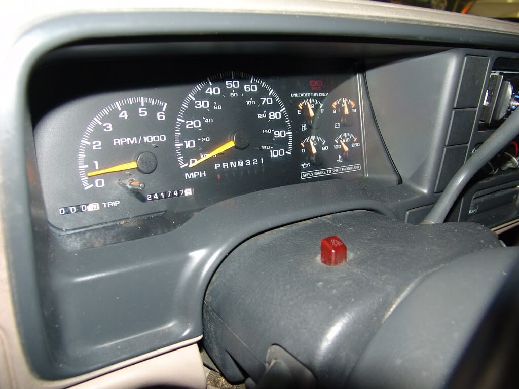 2005 Chevy Venture Dash Wiring Sparky S Answers 1999 Chevrolet Suburban Replacing