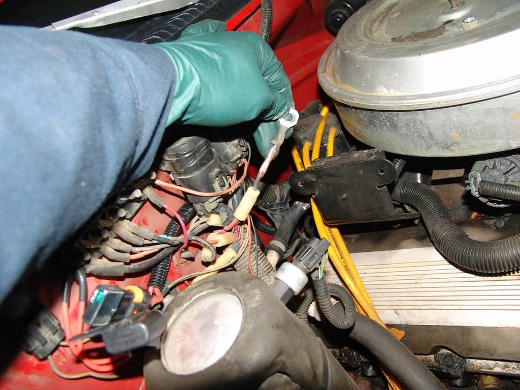 1994 chevrolet c3500 replacing a damaged fusible link