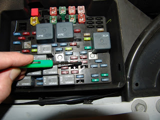 Sparkys Answers - HVAC Actuator Recalibration Procedure for GM | Hvac Reset Fuse Box |  | Sparky's Answers