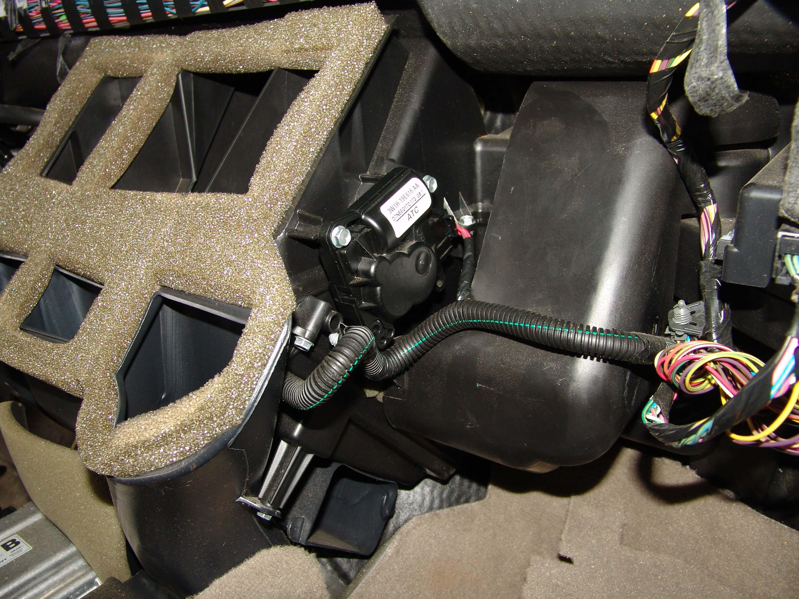 Blend Door Motor Replacement Cost