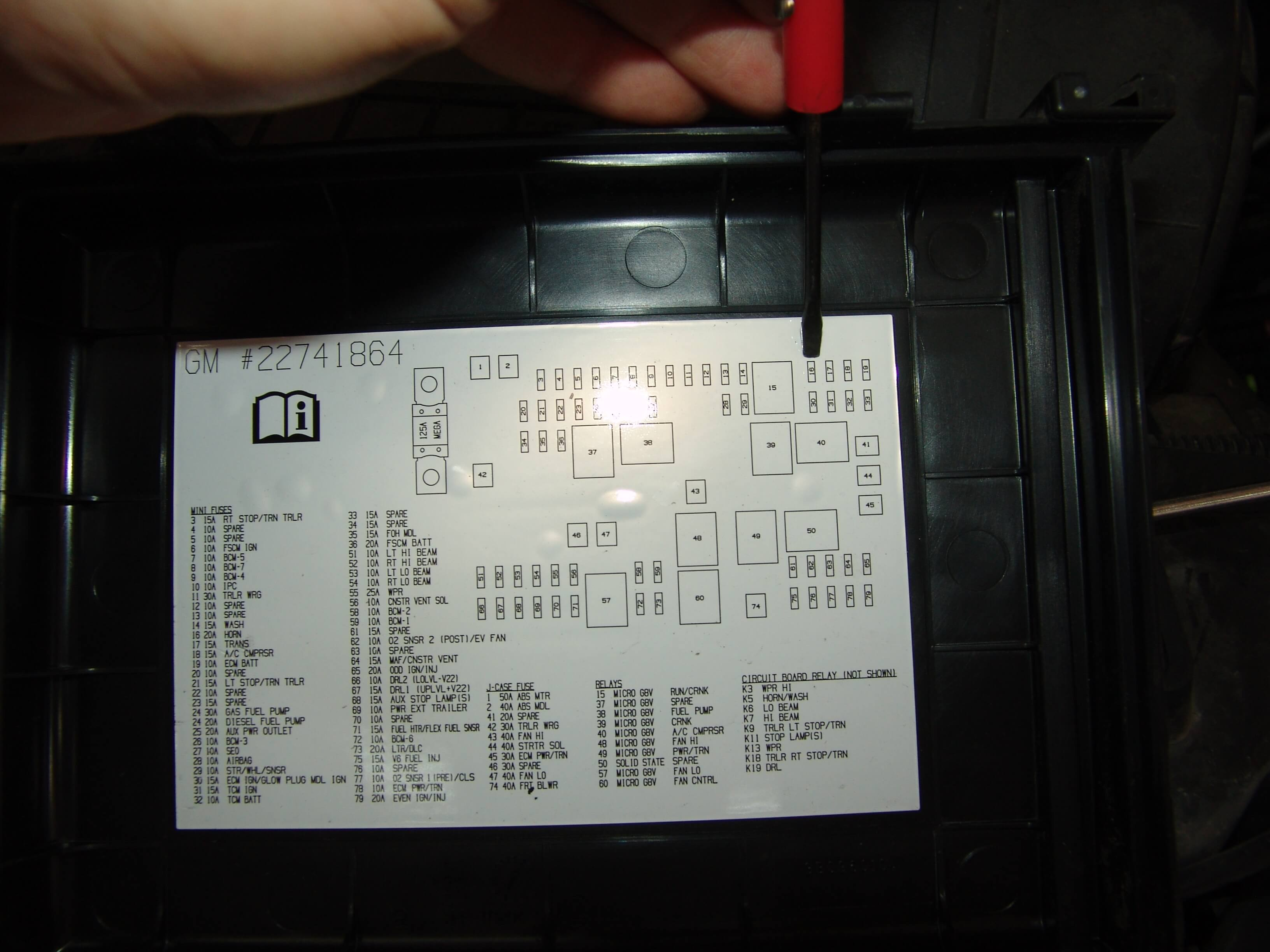 Fuse Box Diagram For 2007 Chevy 2500 Wiring Library 03 2010 Express Silverado