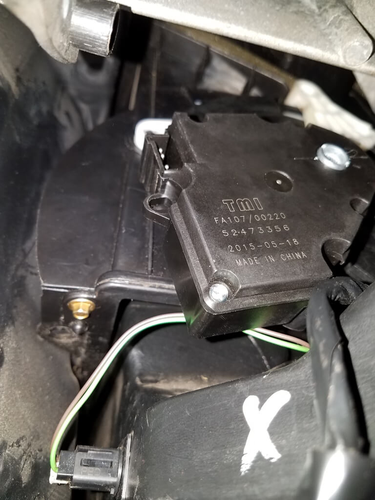 Sparky's Answers - 2002 Chevrolet Suburban-Mode Actuator Cycles