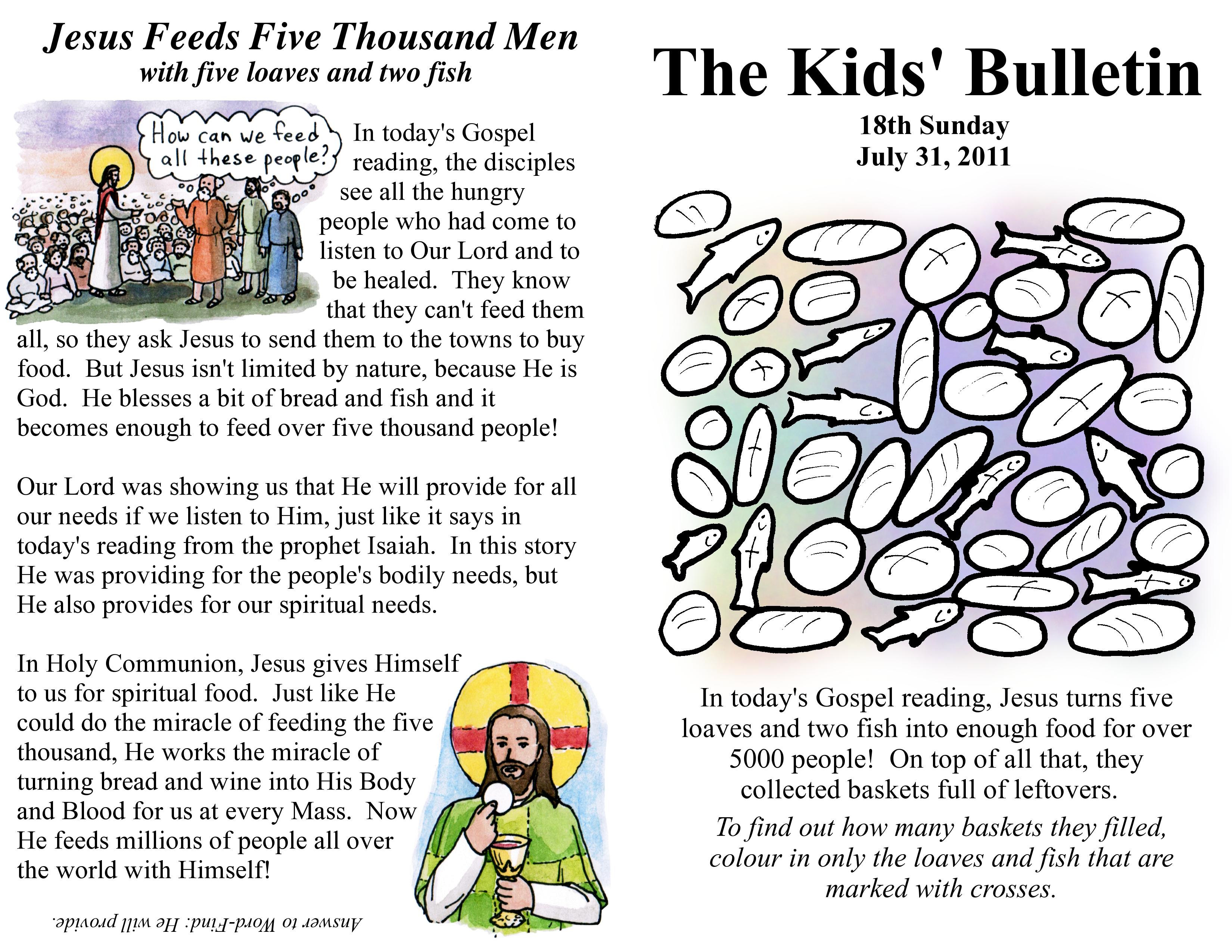 Kids Bulletins Sparky S Notes