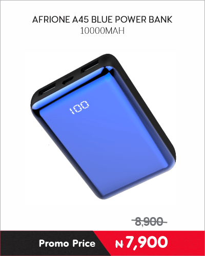 AFRIONE A45 BLUE POWER BANK