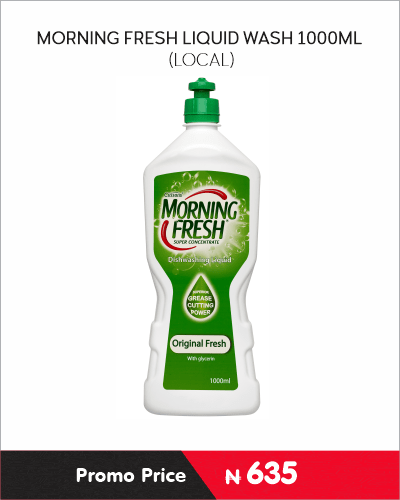 MORNING FRESH LIQUID WASH 1000ML