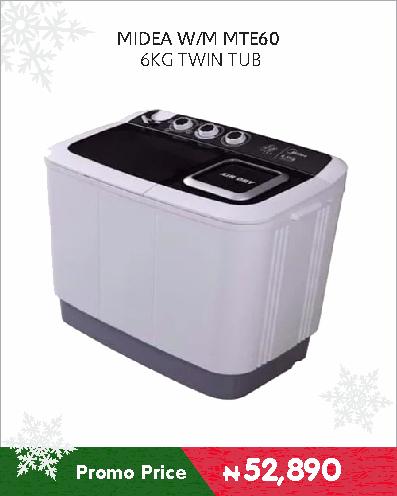 MIDEA W-M MTE60 6KG TWIN TUB