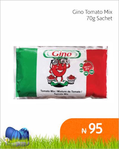 Gino Tomato Mix 70g Sachet