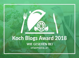 Banner für Koch Blogs Award 2018