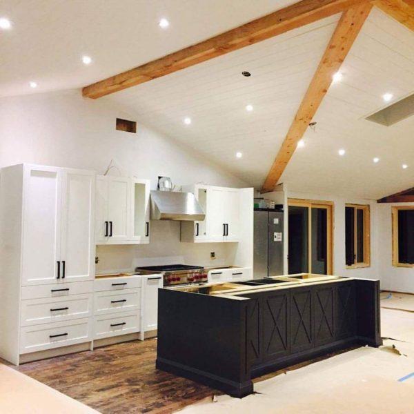 Modern Country Uxbridge Kitchen | Sparrow Lane Interiors