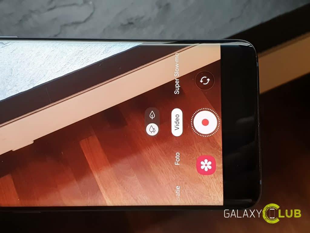 Samsung S9 Camera Interface afrer pie