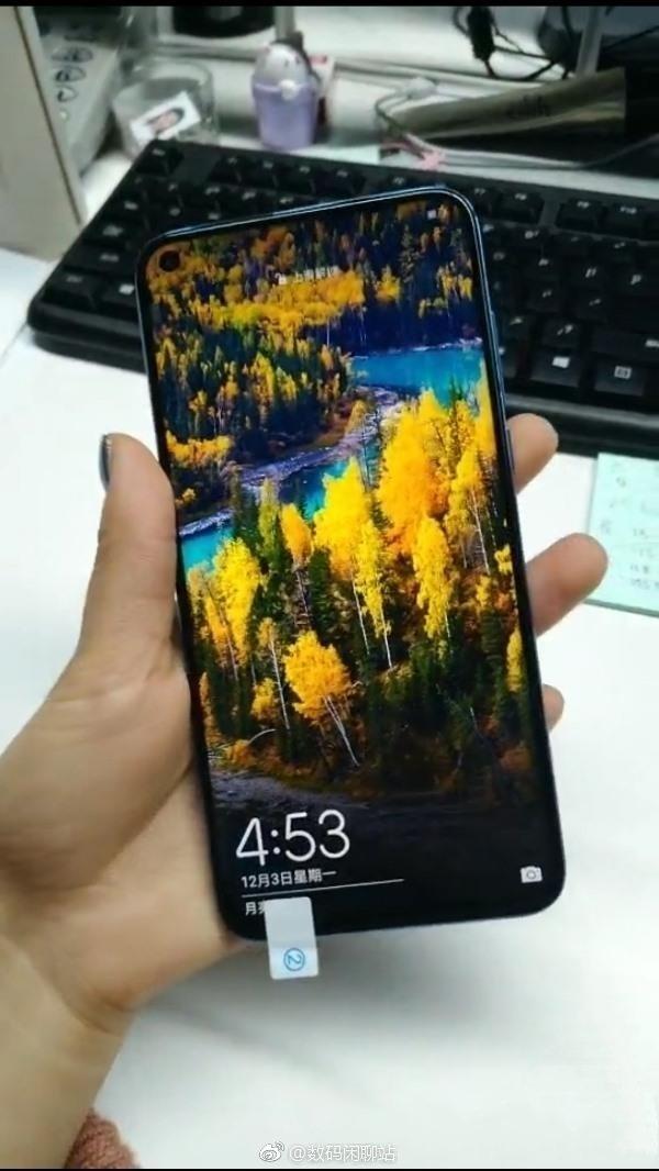 Huawei Nova 4 Appear Live hands-on Images 1
