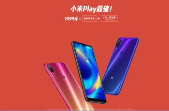 Xiaomi Play Released with MediaTek P35 1