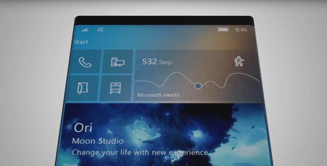 Microsoft plans large, foldable Surface :Project Centaurus 1